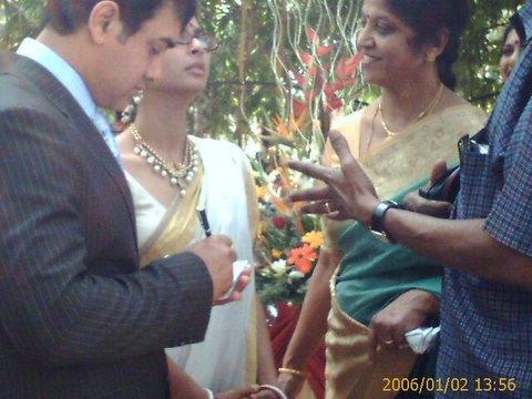 Khan and Kiran Rao Wedding/Aamir Khan and Kiran Rao wedding pictures